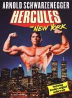 Hercules in New York DVD cover